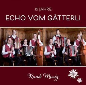 CD Cover Rundi Musig - 15 Jahre